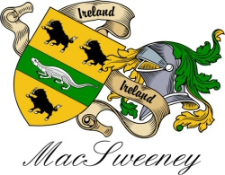 Macsweeney irish clan sept crest heraldic shields to order online clansept crest wall shield for the macsweeney clan altavistaventures Gallery